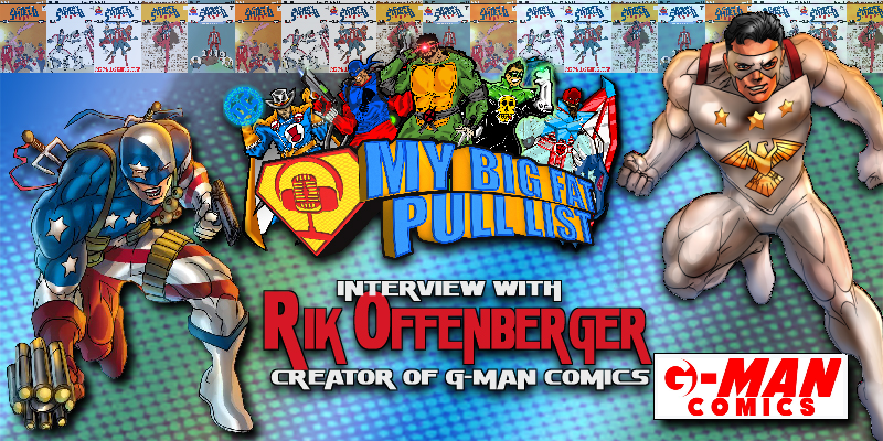 MY BIG FAT PULL LIST VIDEO PODCAST – INTERVIEW WITH THE AGENT CREATOR RIK OFFENBERGER